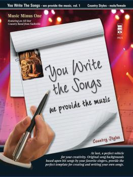 You Write the Songs, Vol. 1: Country Styles: We Provide the Music - Ma (HL-00400599)