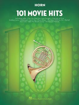 101 Movie Hits for Horn (HL-00158092)