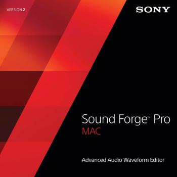 Sound Forge Pro for Mac - Version 2.5 (Retail Edition) (HL-00143997)