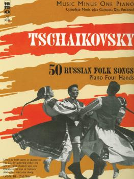 Tchaikovsky - 50 Russian Folk Songs (Piano Four Hands) (HL-00400219)