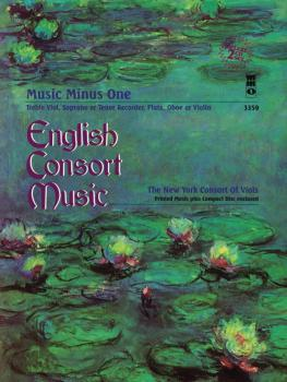 English Consort Music: Music Minus One Recorder Deluxe 2-CD Set (HL-00400374)