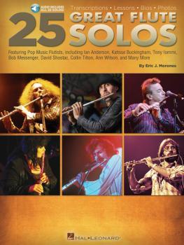 25 Great Flute Solos: Transcriptions · Lessons · Bios · Photos (HL-00140928)