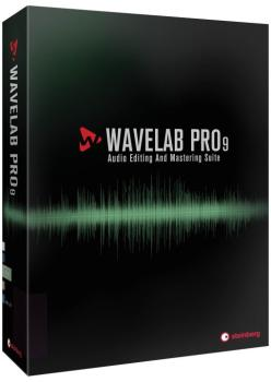 WaveLab Pro 9 (Retail Edition) (ST-00160516)