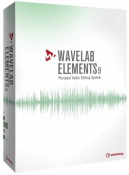 WaveLab Elements 9: Professional Edition Hybrid (ST-00160556)