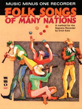 Folk Songs of Many Nations: Music Minus One Recorder (HL-00400356)
