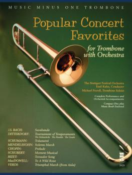 Popular Concert Favorites (for Trombone with Orchestra) (HL-00400457)