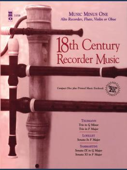 18th Century Recorder Music (Deluxe 2-CD Set) (HL-00400373)