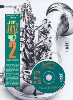 Easy Jazz Duets for 2 and Rhythm Section: Music Minus One Tenor Sax (HL-00400490)