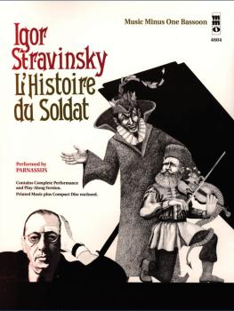 Igor Stravinsky - L'histoire du Soldat: Music Minus One Bassoon (HL-00400515)