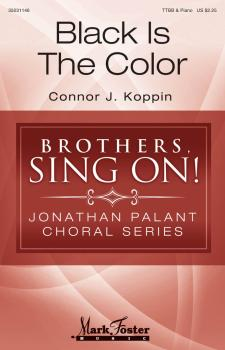 Black Is the Color: Jonathan Palant Choral Series (HL-35031146)