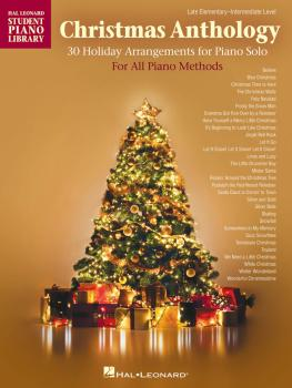 Christmas Anthology: Late Elementary to Intermediate Level Piano Solos (HL-00174271)