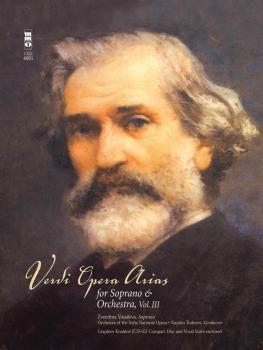 Verdi - Opera Arias for Soprano & Orchestra, Volume III: Music Minus O (HL-00400572)