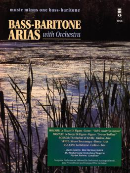 Bass-Baritone Arias with Orchestra - Volume 1: Music Minus One Bass-Ba (HL-00400555)