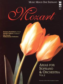 Mozart - Opera Arias for Soprano And Orchestra, Vol. 2: Music Minus On (HL-00400563)
