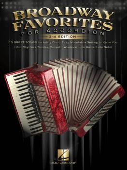 Broadway Favorites for Accordion - 2nd Edition (HL-00490157)