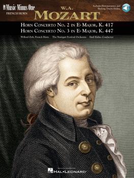 Mozart - Horn Concerto No. 2, KV417; Horn Concerto No. 3, KV447: Music (HL-00400388)