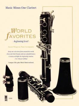 World Favorites - Beginning Level: Music Minus One Clarinet (HL-00400331)