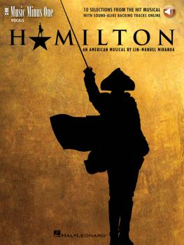 Hamilton - 10 Selections from the Hit Musical: Music Minus One Vocals (HL-00190974)