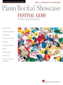 Festival Gems Book 1 - 10 Outstanding NFMC Elementary/Late Elementary  (HL-00193548)