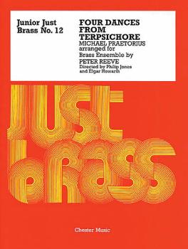 4 Dances from Tersichore: Junior Just Brass Series, Volume 12 (HL-14026075)