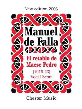 El Retablo De Mases Pedro (Vocal Score) (HL-14008552)