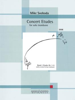 Concert Etudes for Trombone, Nos. 1-5 (With a version for Bass Trombon (HL-48023519)