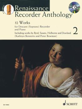 Renaissance Recorder Anthology Volume 2: 32 Pieces for Soprano Descant (HL-49045289)