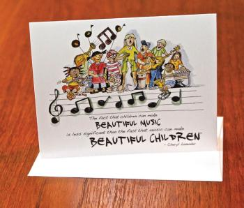 Beautiful Music, Beautiful Children Notecards (Set of 10 Cards) (HL-00236145)