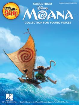 Let's All Sing Songs from MOANA: Collection for Young Voices (HL-00232934)