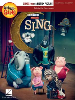 Let's All Sing Songs from the Motion Picture SING: Collection for Youn (HL-00232960)