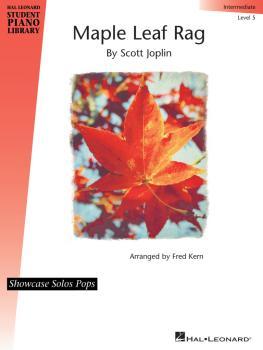 Maple Leaf Rag: Hal Leonard Student Piano Library Showcase Solos Pops  (HL-00231684)