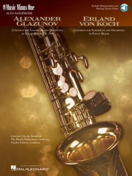 Glazunov - Concerto in E-flat Major, Op. 109; Von Koch - Concerto in E (HL-00400487)