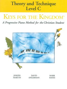 Keys for the Kingdom - Theory and Technique (Level C) (HL-35012021)