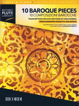 10 Baroque Pieces - Transcribed for Flute and Piano (1-2 Flutes and Pi (HL-50600850)