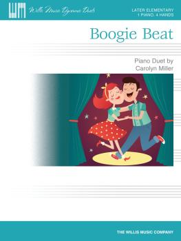 Boogie Beat: 1 Piano, 4 Hands/Later Elementary Level (HL-00235544)