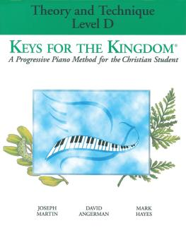 Keys for the Kingdom - Theory and Technique (Level D) (HL-35012028)