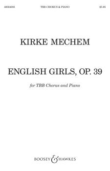 English Girls (Jenny Kissed Me; Julia's Voice; To Celia) (TBB) (HL-48024091)