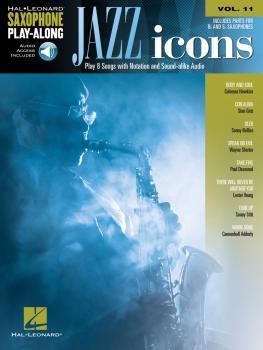 Jazz Icons: Saxophone Play-Along Volume 11 (HL-00199296)
