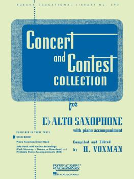 Concert and Contest Collection for Eb Alto Saxophone (Solo Book Only) (HL-04471690)