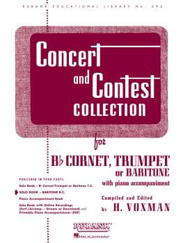 Concert and Contest Collection: Solo Book Only - Baritone B.C. (HL-04471750)