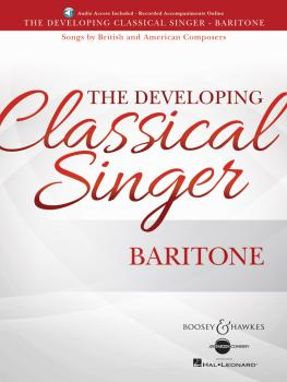 The Developing Classical Singer: Songs by British and American Compose (HL-48024019)