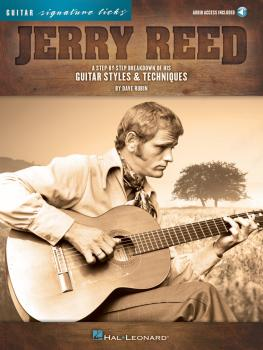 Jerry Reed - Signature Licks: A Step-by-Step Breakdown of His Guitar S (HL-00118236)