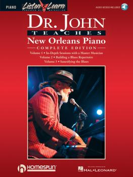 Dr. John Teaches New Orleans Piano - Complete Edition: Listen & Learn  (HL-00220801)