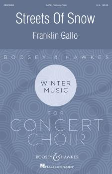 Streets of Snow: Boosey & Hawkes Contemporary Choral Series (HL-48023903)