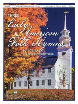 3 Early American Folk Hymns (for Piano) (HL-00237008)