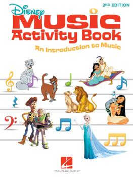 Disney Music Activity Book - 2nd Edition (HL-00248769)