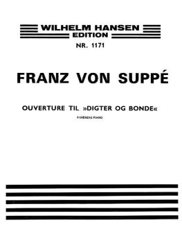 Digter Og Bonde - Ouverture (Poet and Peasant) (Piano Duet) (HL-00243877)