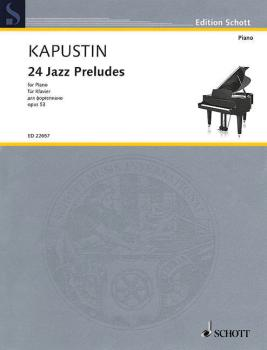24 Jazz Preludes, Op. 53 (HL-49045497)
