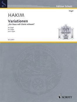 Variations Ein Haus voll Glorie schauet (Organ) (HL-49045675)