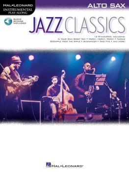 Jazz Classics: Instrumental Play-Along for Alto Sax (HL-00151814)